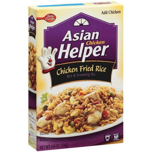 Betty Crocker Chicken Fried Rice Asian Helper, 4.8 oz