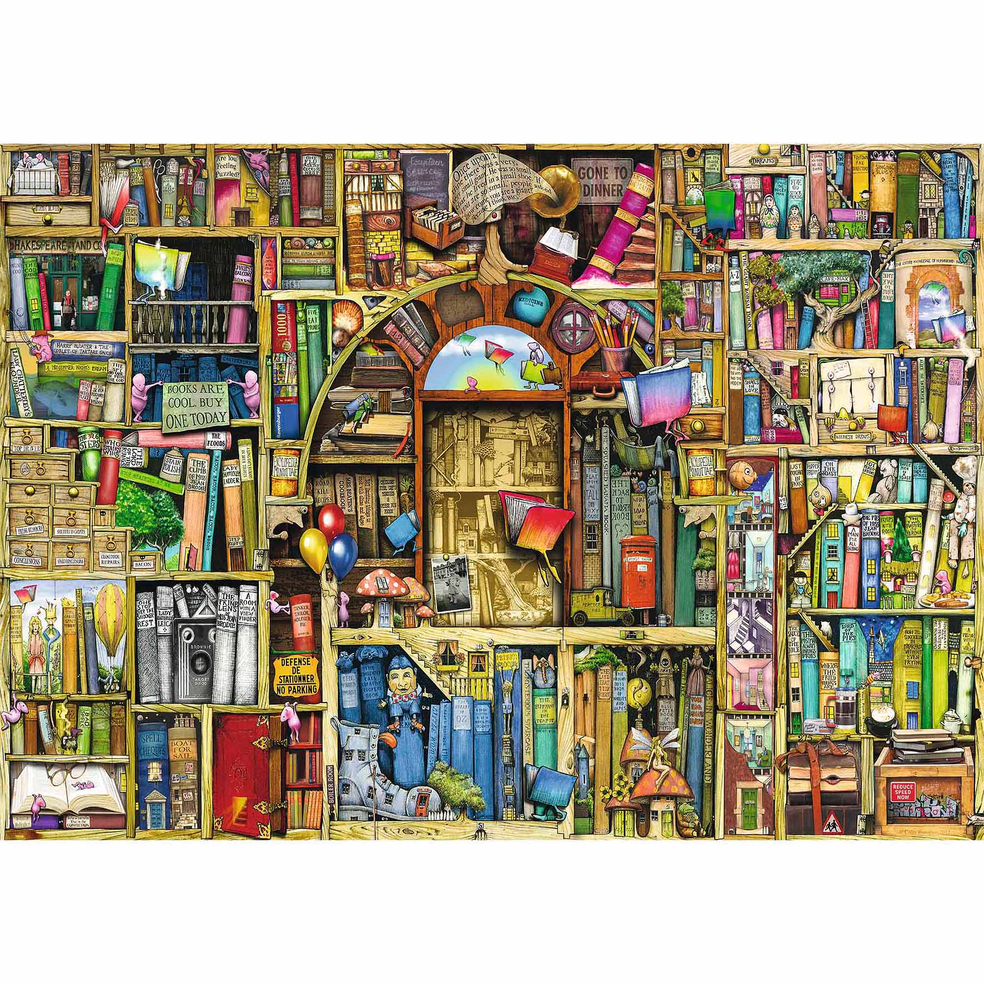 Bizarre Bookshop 2 Puzzle, 1,000 Pieces