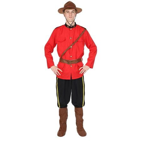 Canadian Mountie Men's Costume - Canada Halloween