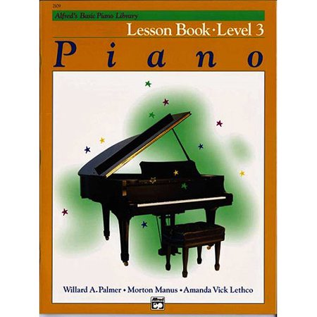Alfred's Basic Piano Library Lesson Book: Level 3
