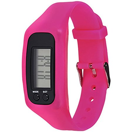 MyGuard Fitness Tracker with Calorie Counter - Pink (12 Pack)