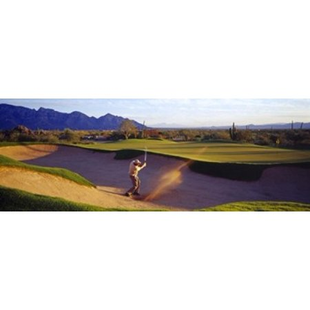 Golf Course Tucson AZ USA Poster Print