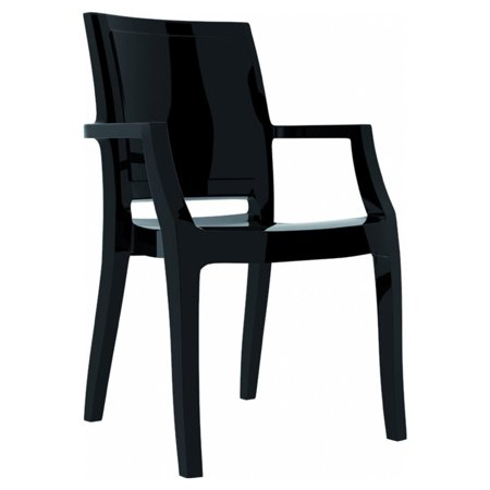 Miraculous Siesta Arthur Polycarbonate Modern Patio Dining Chair Set Of 4 Spiritservingveterans Wood Chair Design Ideas Spiritservingveteransorg