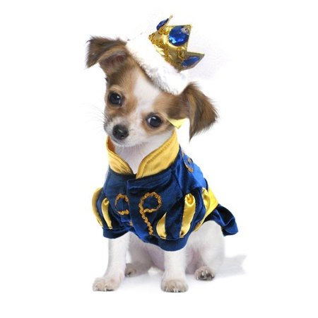 High Quality Dog Costume - PRINCE CHARMING COSTUMES Royal Dogs as Princes (Size - 0x40 Halloween