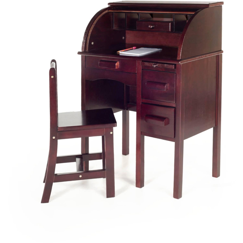 Guidecraft - Roll-Top Desk, Espresso