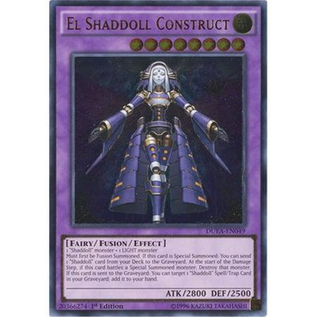 Yu-Gi-Oh - El Shaddoll Construct DUEA-EN049 - Duelist Alliance - Unlimited Edition - Ultimate