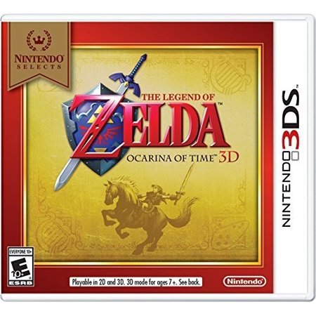Nintendo Selects: The Legend of Zelda: Ocarina of Time 3D, Nintendo, Nintendo 3DS, 045496743789