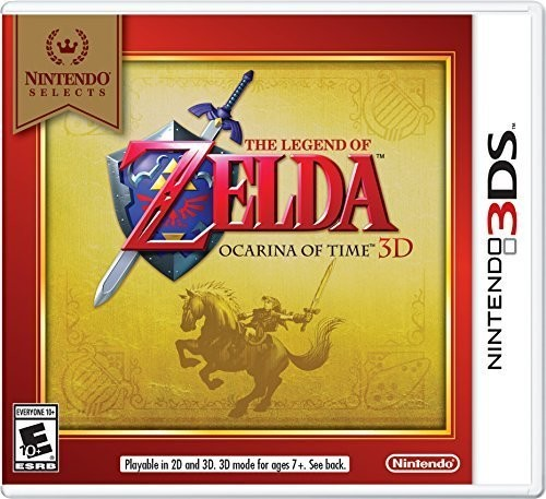 The Legend of Zelda: Ocarina of Time 3D (Nintendo Selects), Nintendo, Nintendo 3DS, 045496743789