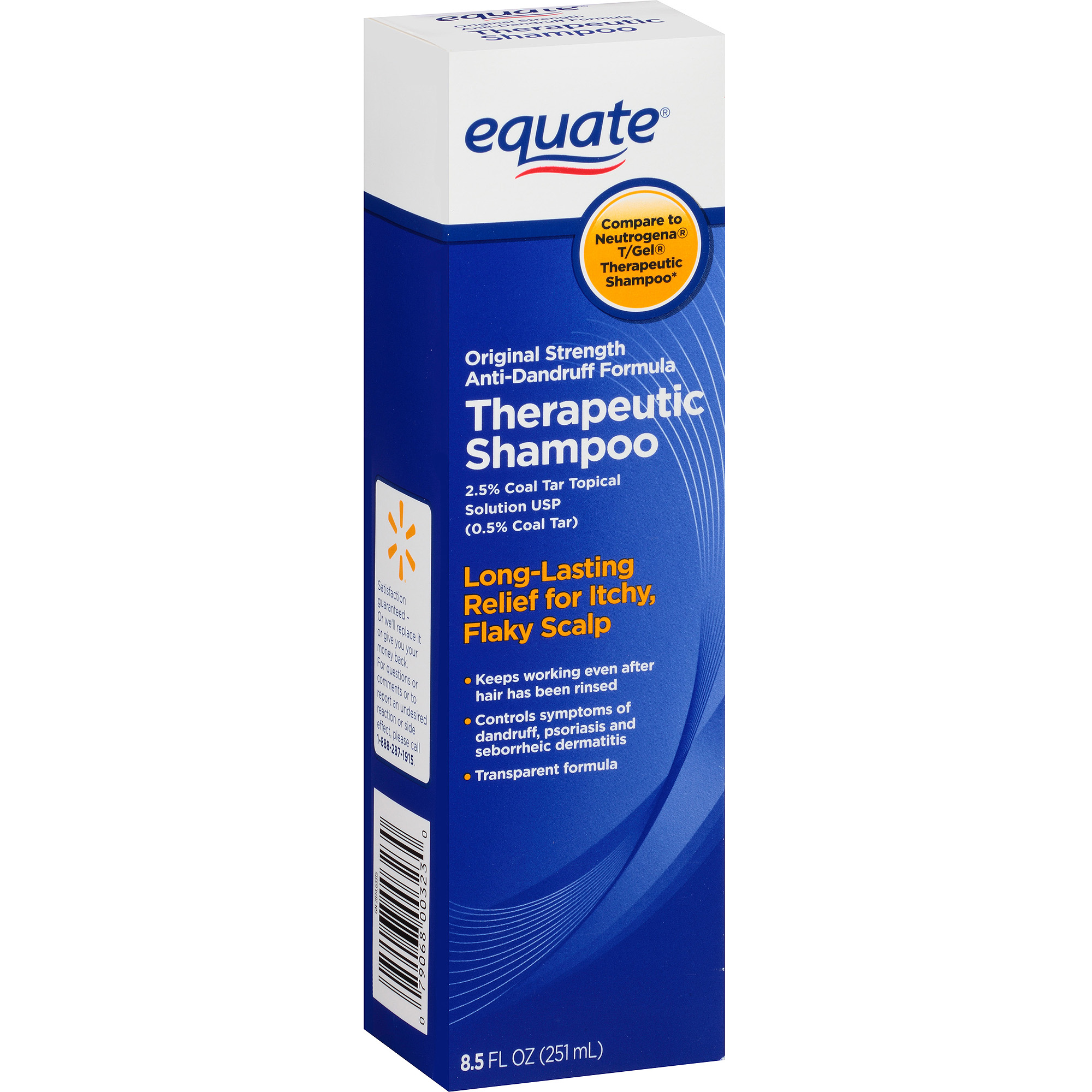 Equate Therapeutic Shampoo, 8.5 Fl Oz