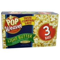 New 800694  P.W Microwave Popcorn 3Pk Lt Bttr (12-Pack) Popcorn Cheap Wholesale Discount Bulk Snacks Popcorn Others