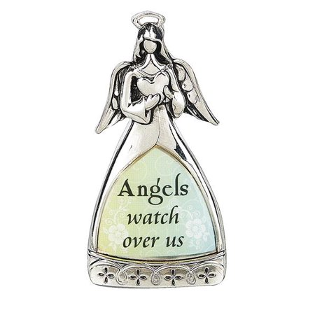 Angels Watch Over Us - Guardian Angel Figurine by Ganz