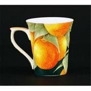 Euland China FR0-001O Set Of Two 12-Ounce Mugs - Oranges