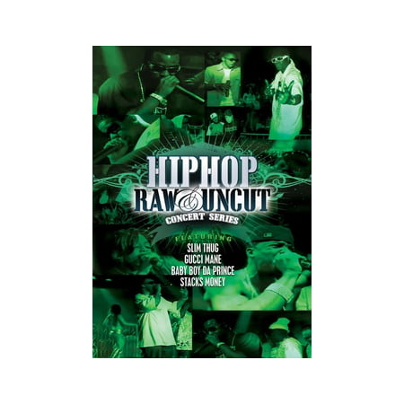 Hip Hop Raw & Uncut Live In Concert: Slim Thug Gucci Man & Baby Boy (DVD) ()