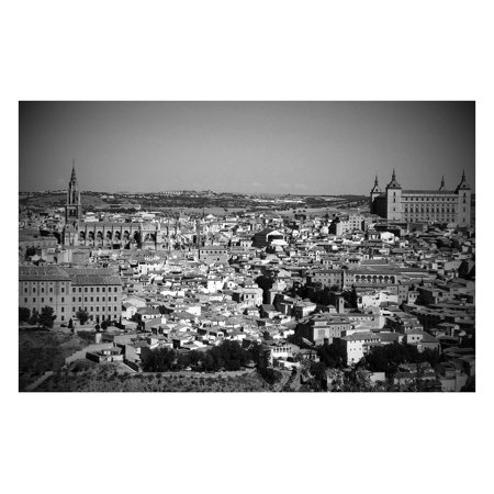 LAMINATED POSTER Spain Panoramic Historic Buildings Toledo City Poster Print 24 x 36 - Party City Toledo