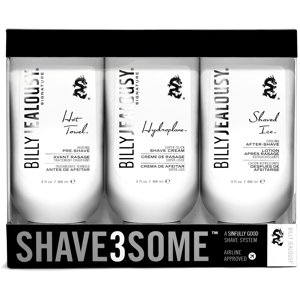 Billy Jealousy  Shave3Some 3-piece Shave System