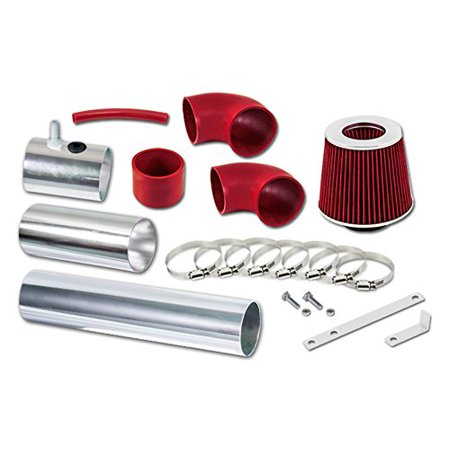 RL Concepts Red Cold Air Intake Kit + Filter 08-14 Subaru Impreza WRX/STI 2.5L