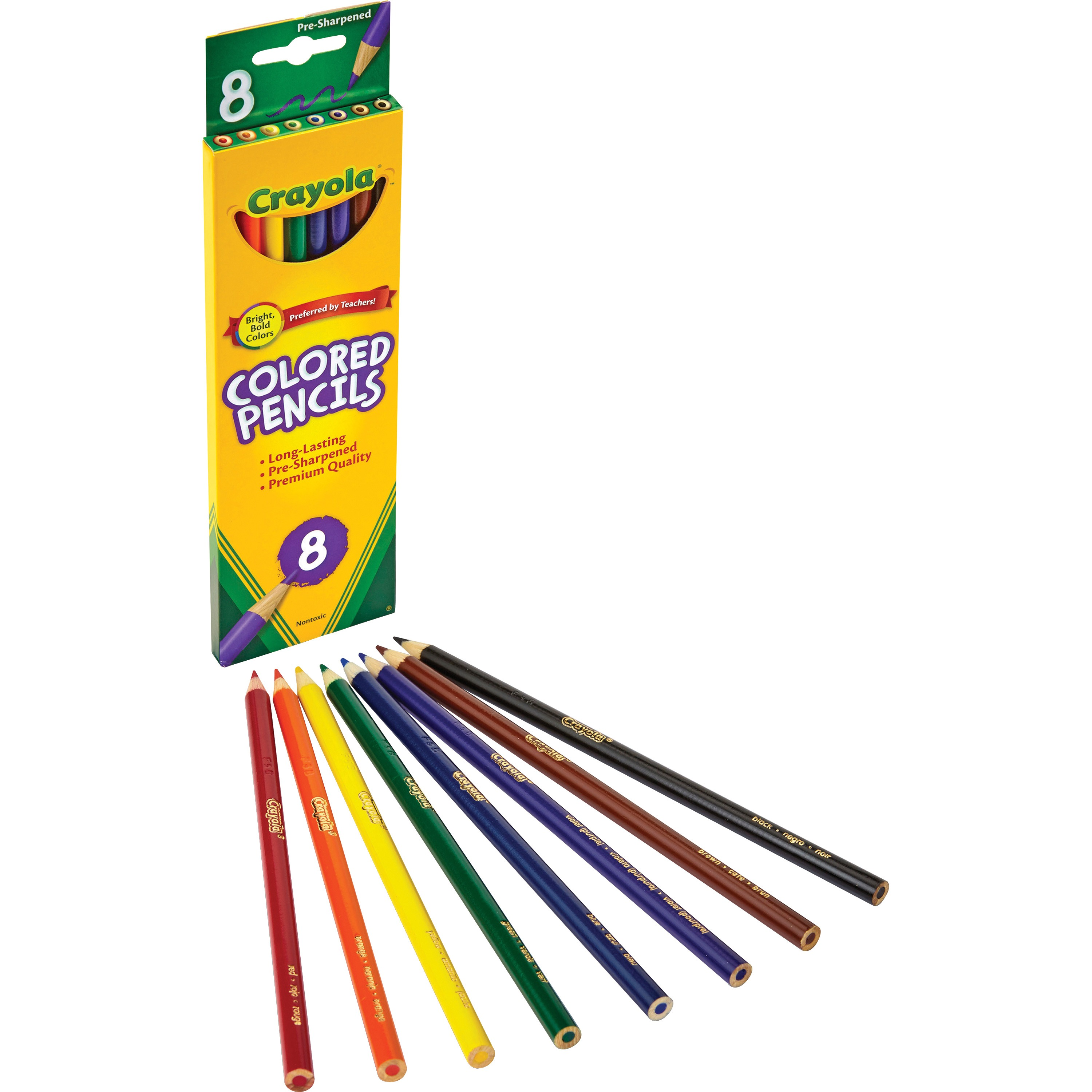 Crayola Colored Pencils, 8-count by Crayola, LLC