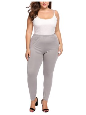 651a4d16393 Product Image Women Plus Size High Waist Stretchy Lightweight Breathable  Full Length Leggings HFON