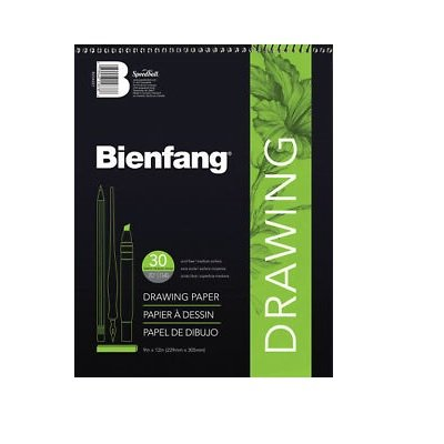 DRAWING PAD RARITAN 18X24, BIENFANG #523, 30 SHT - image 1 of 1