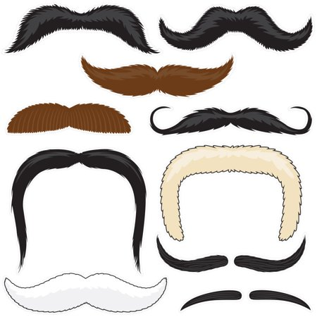 Mr. Moustachio's Stach'oos, 10 Temporary Tattoo Mustaches](Mustache Tattoo)