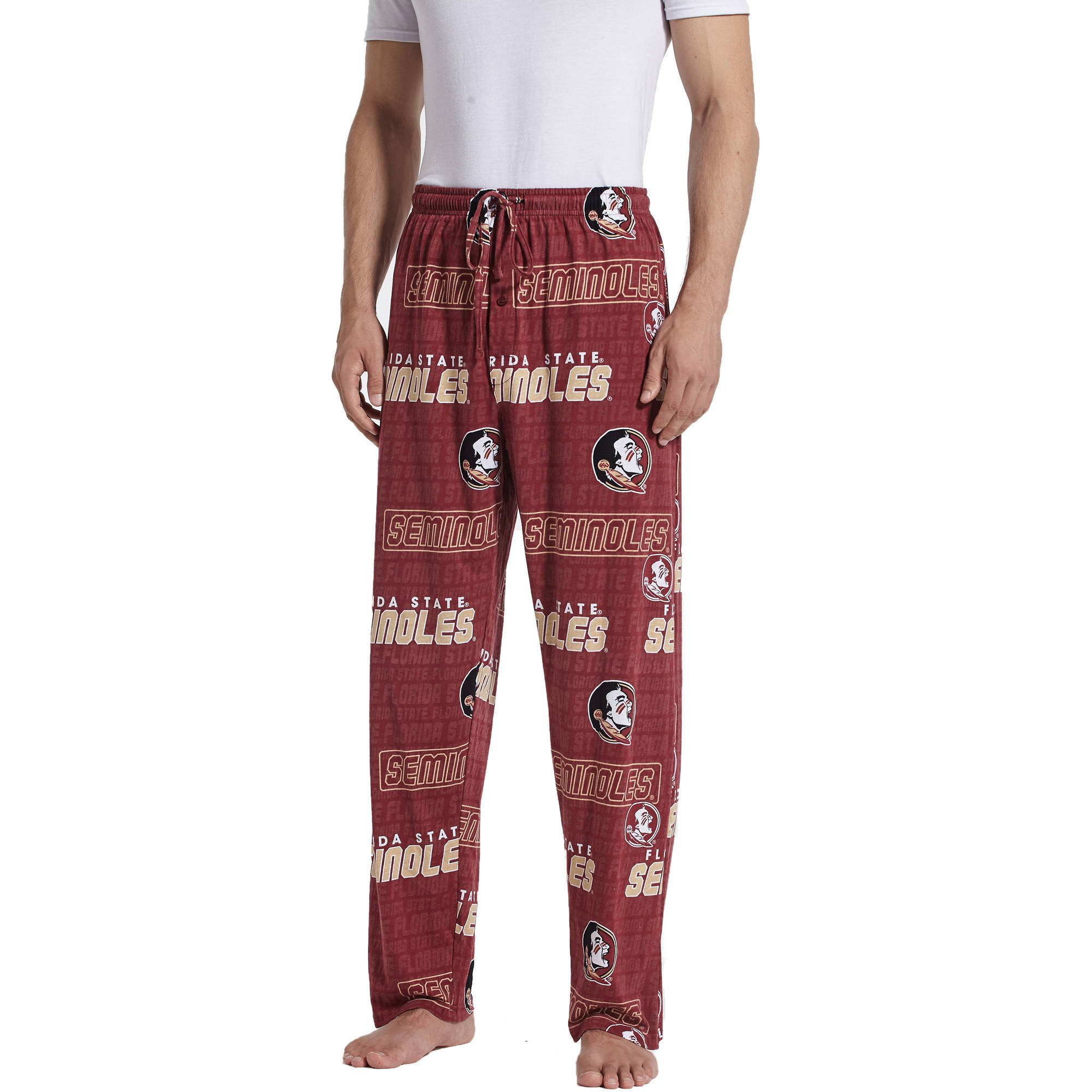 NCAA Florida State Seminoles Transform Men's AOP Knit Pant