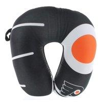 "Philadelphia Flyers Travel Neck Pillow 12"" X 12"" Super Soft Fleece"