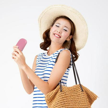 Mini Portable Handheld Air Conditioner - Pink (Best Handheld Air Conditioner)