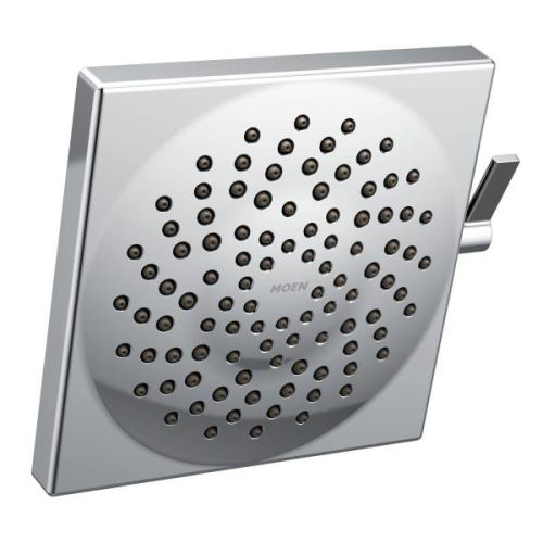 Moen S6345EP Velocity 1.75 GPM Two-Function Rainshower with Swivel Ball Assembly