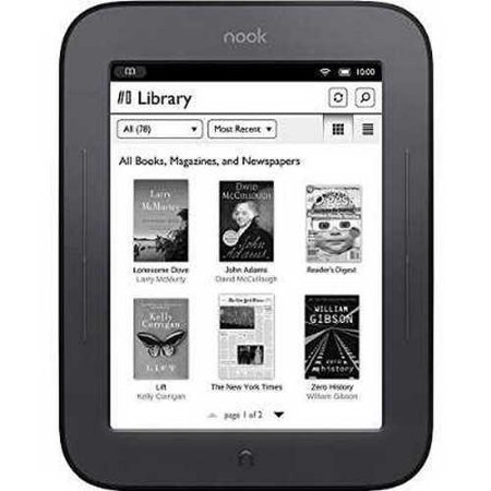 Barnes & Noble BNRV300 Nook Simple Touch eBook Reader (Wi-Fi Only)