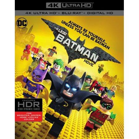 The Lego Batman Movie  4K Ultra Hd   Blu Ray   Digital Hd