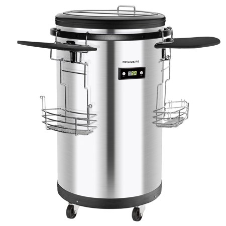 Frigidaire EFRP245 Stainless Steel Party Cooler - Party Coolers