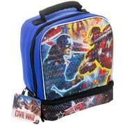 Best Marvel Mens Lunch Boxes - Marvel Captain America vs Iron Man: Civil War Review