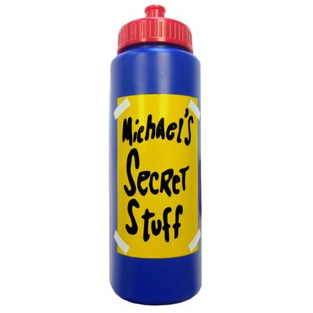 Michael\'s Secret Stuff Water Bottle Space Jam Michael Jordan Tune ...