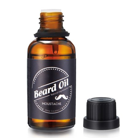 Skymore Beard Care Oil, 100% Pure Blend of Natural Ingredients, Beard Growth & Mustache Care Products, Beard Softener, Best Gift for Gentlemen,Father's