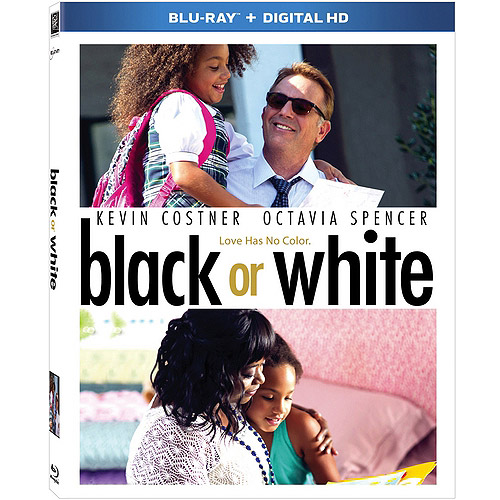 Black Or White (Blu-ray   Digital HD) (With INSTAWATCH)
