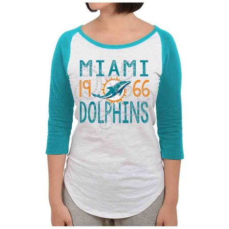 NFL Miami Dolphins Juniors Long Sleeve Graphic Tee by