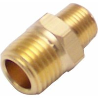 13 in. NPT Male to .25 in. NPT Male Nipple Air Fitting