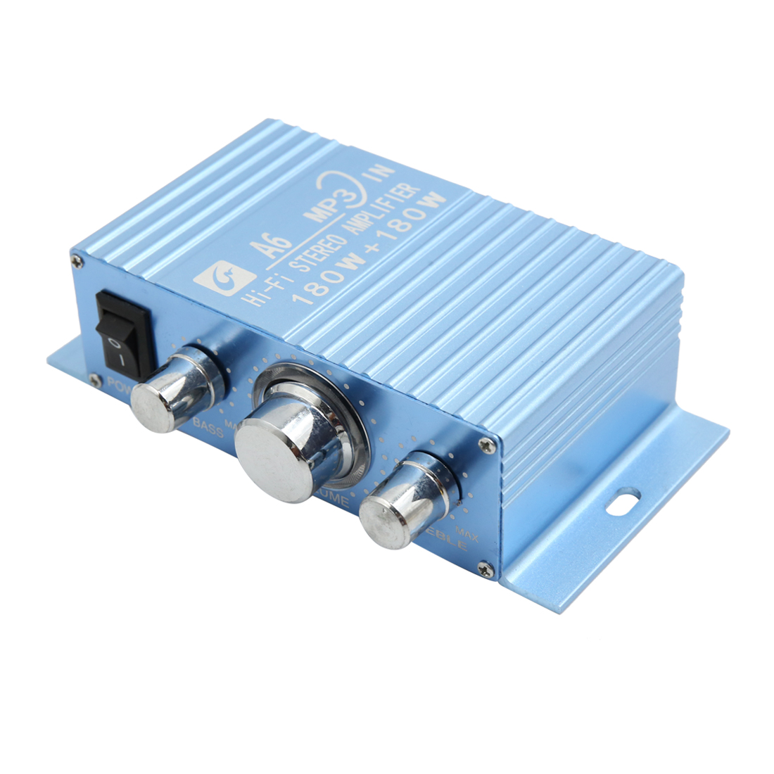 DC 12V 2A Hi-Fi FM Radio Audio Stereo Power Amplifier for Car Motorcycle Boat