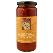(6 Pack) Divina Roasted Sweet Peppers 16.2 oz