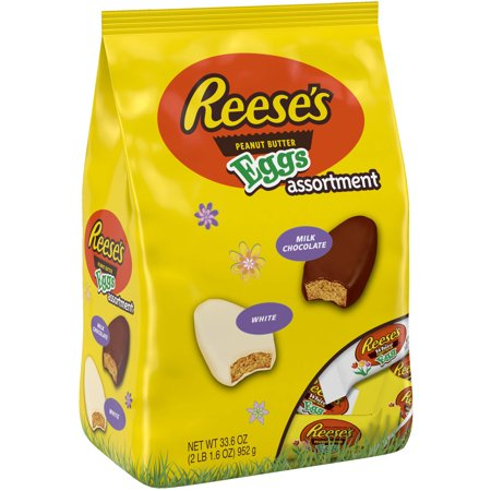 Reese's Peanut Butter Egg Assortment Bag - 33.6oz
