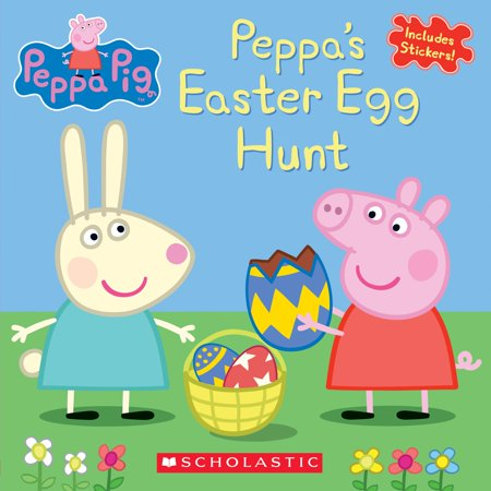 Peppa's Easter Egg Hunt - Easter Scavenger Hunt
