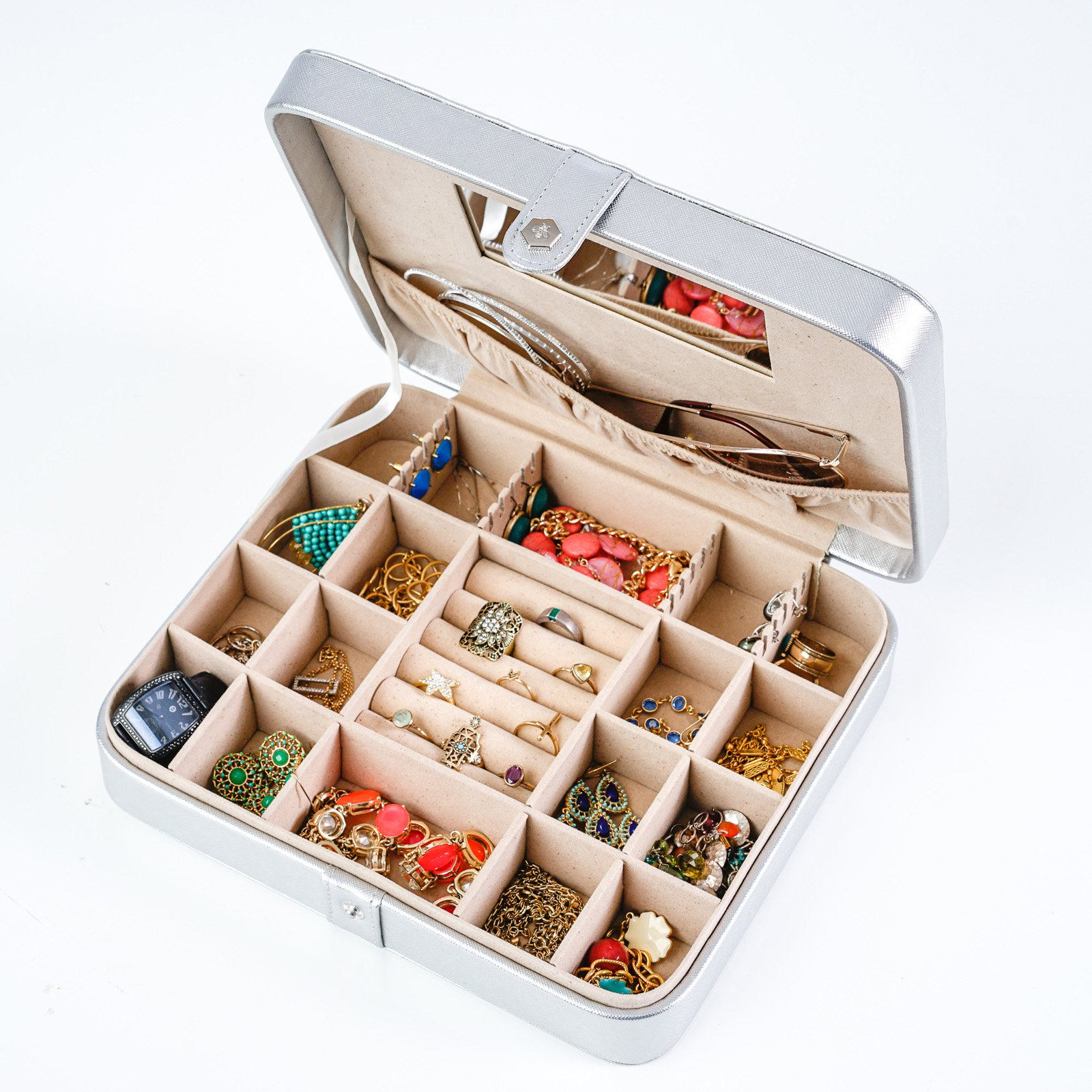 Hives & Honey PU Jewelry Travel Case