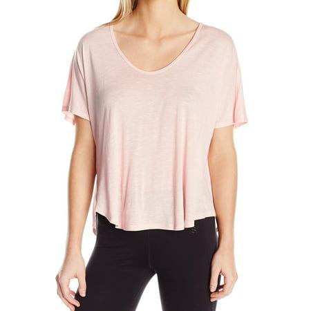 Calvin Klein NEW Light Pink Womens Size 3X Plus Short Sleeve Knit Top