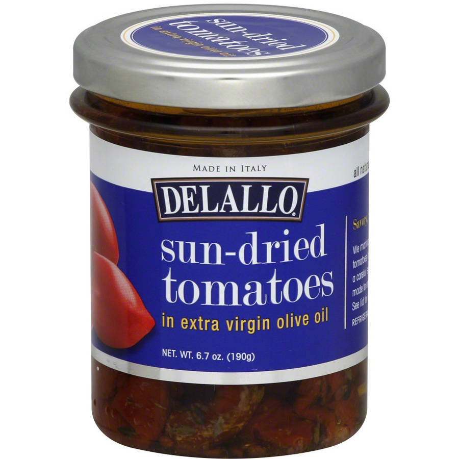 Delallo Sun-Dried Tomatoes in Extra Virgin Olive Oil Pesto, 6.7 oz, (Pack of 6)