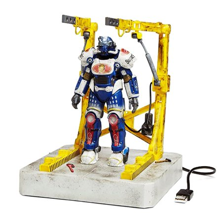 Fallout Sugar Bombs T51 Power Armor & Cradle 4 Port USB Hub - Fallout Power Armor For Sale