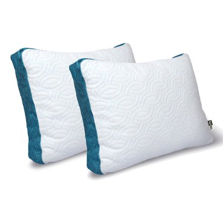 Tanda Sleep Complete Cool Memory foam Standard Pillow (Set of 2)