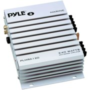 Pyle® Hydra Series Waterproof 240-watt 2-channel Marine Class Ab Amp