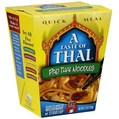 A Taste of Thai: 5.75 Oz Pad Thai Noodles, 6 Pk, (Pack of 6)