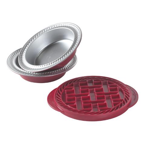 Nordic Ware 2 Piece Non-Stick Mini Bakeware Set