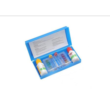 3 Way Swimming Pool Test Kit With Case   Tests Ph  Chlorine And Bromine Levels